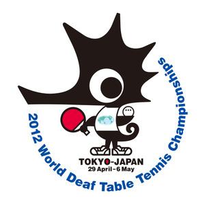 2012世界ろう者卓球選手権大会キャラクター