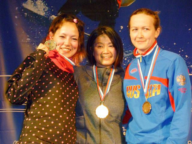 第1回デフスノーボード世界選手権大会②