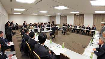 Executive Committee of Japan Association of Mayors on Sign Language