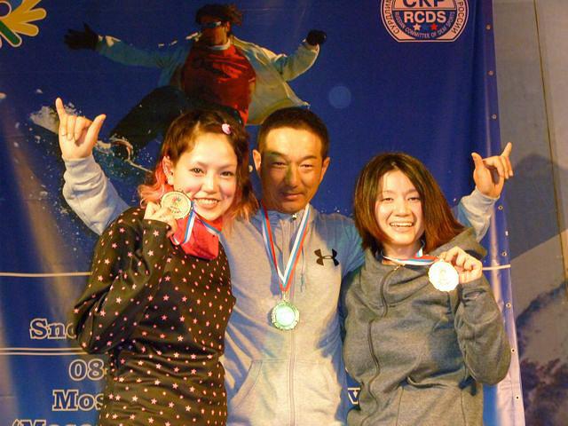 第1回デフスノーボード世界選手権大会④